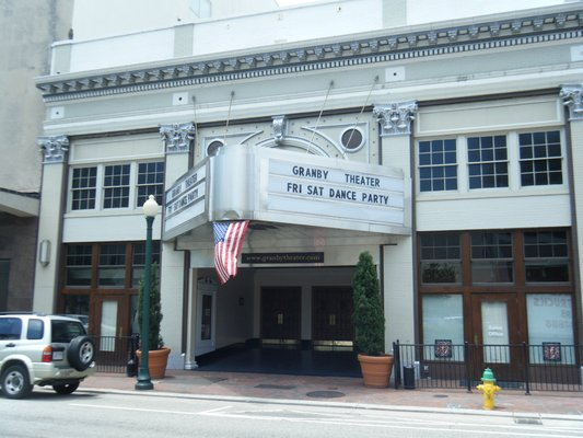 Granby Theater is an historic landmark renovated to its original splendor with the addition of