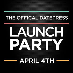 datepress launch logo