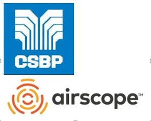 CSBP and Airscope logo's