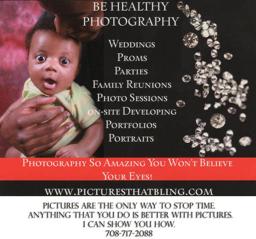 BE HEALTHY PHOTOGRAPHY LOGO