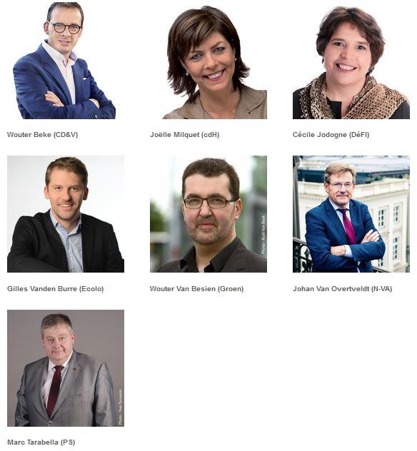 speakers of the yes2belgium election debate