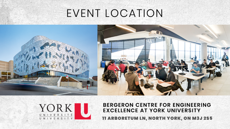 BlockHack Takes place at Bergeron Centre at York University