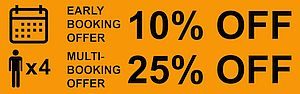 Multi-booking discount