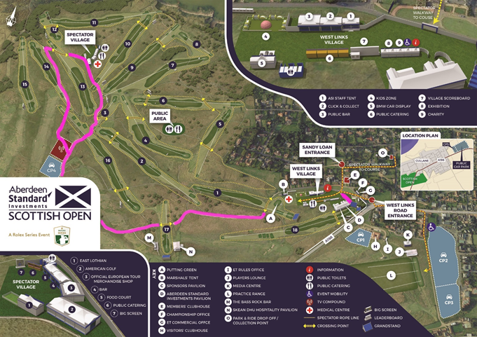 Scottish Open Disabled Route