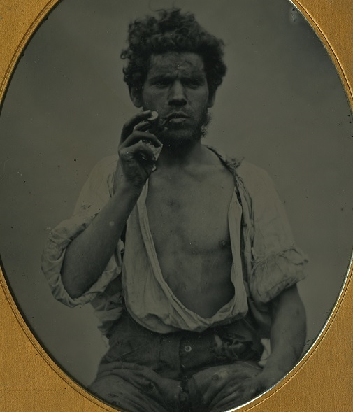 irish famine museum labourer