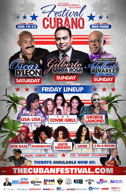 Festival Cubano Poster