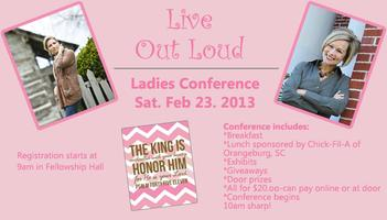 Live Out Loud Ladies Conference