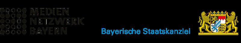 Our sponsors: MedienNetzwerk Bayern and Bayerische Staatskanzlei