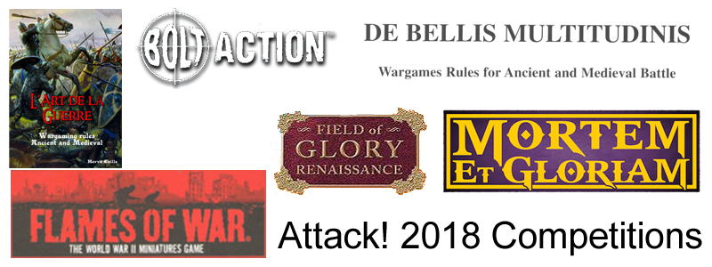 2018 Competition rules