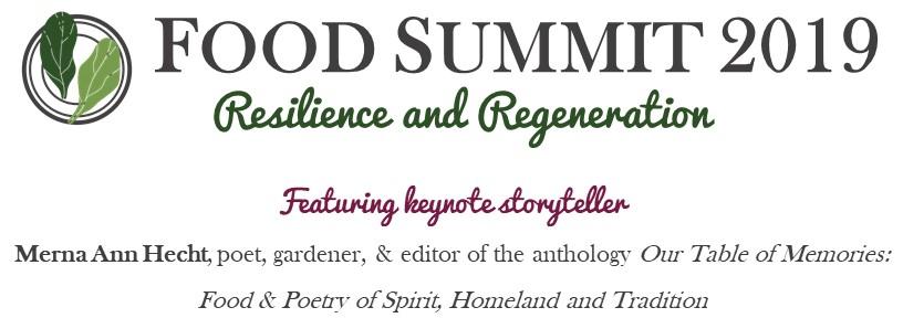 Food Summit 2019 Resilence and Regeneration