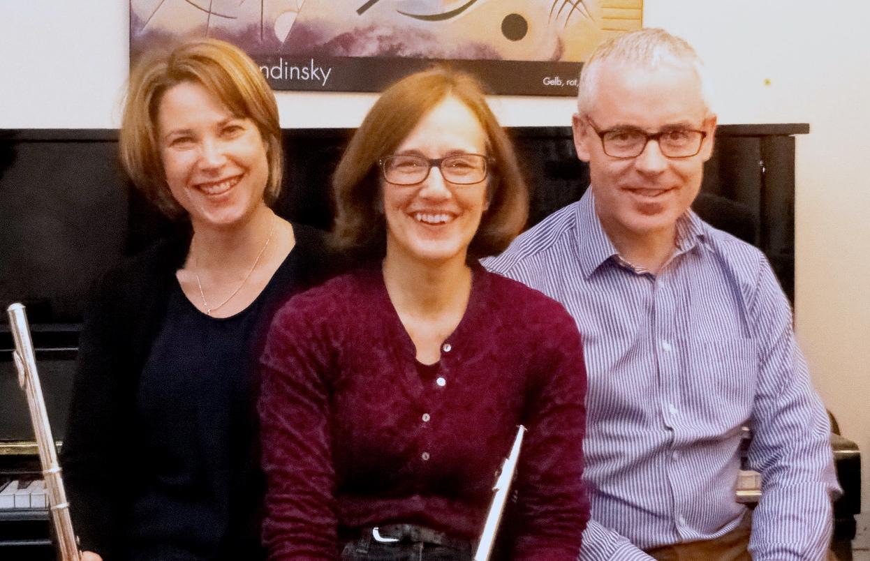 Gerda, Judith and Gerry