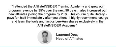 Advanced Affiliate Program Management (London)