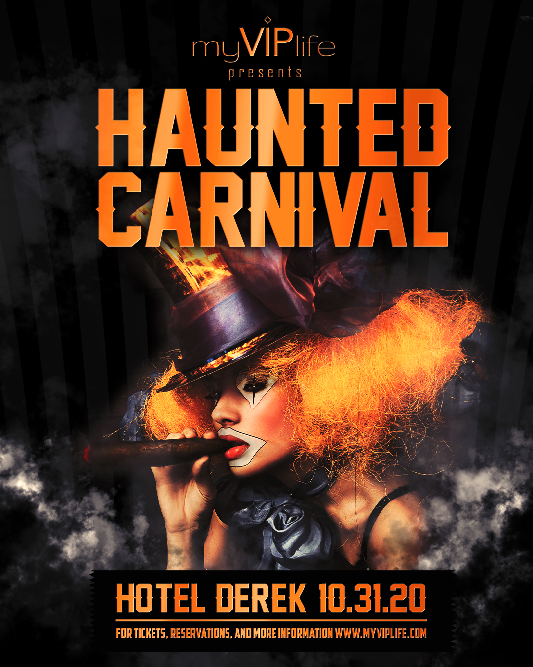 Halloween Hotel Derek Houston