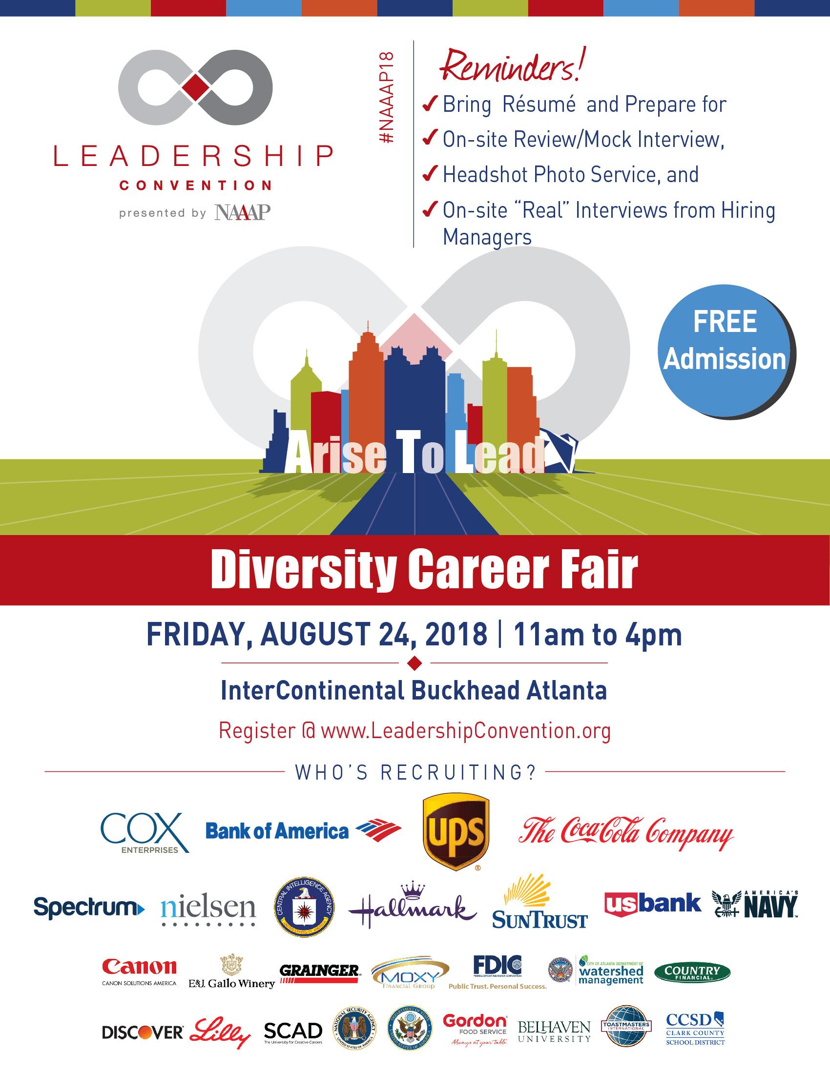 NAAAP Diversity Career Fair