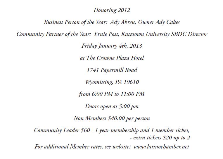 2013 Invite