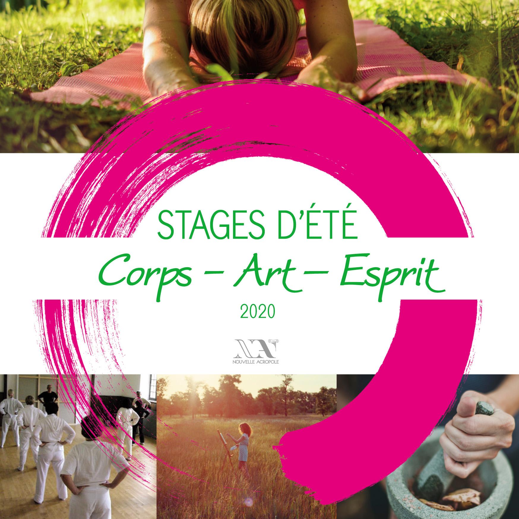 Stage d'été 2020 : Corps Art Esprit - Cour Petral - Nouvelle Acropole France