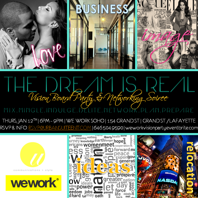 Vision Board Party with Urban Suite PR