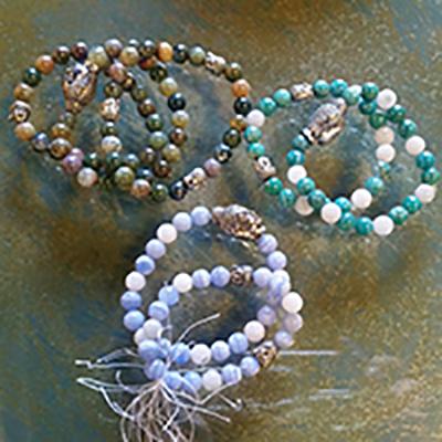 mala bracelets Koi Zen Cellars Yoga Class