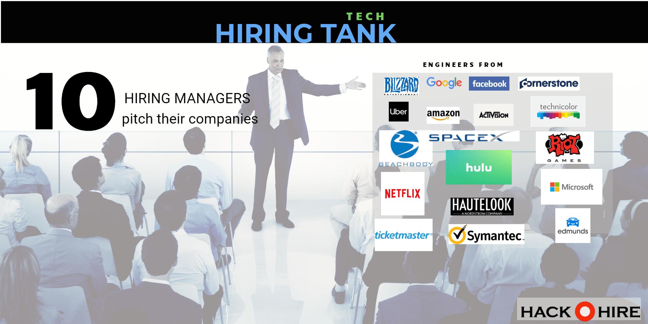 hiring tank