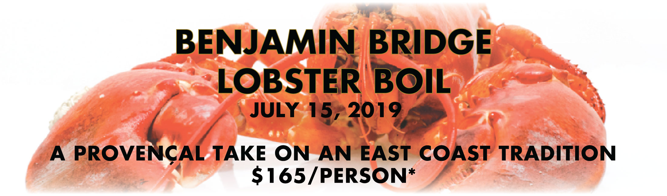 Benjamin Bridge Lobster Boil