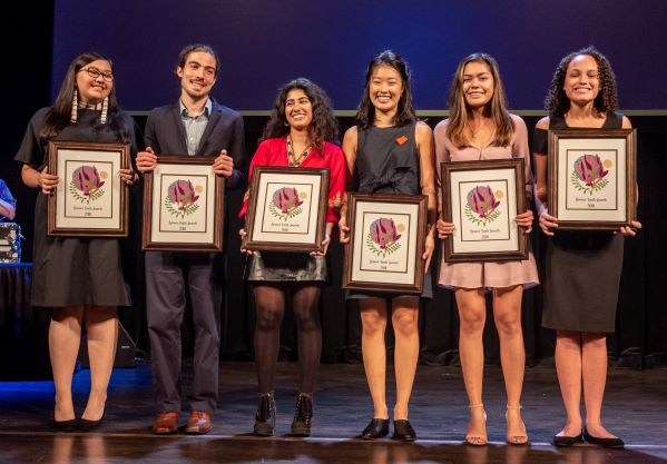 2018 Brower Youth Award winners on stage