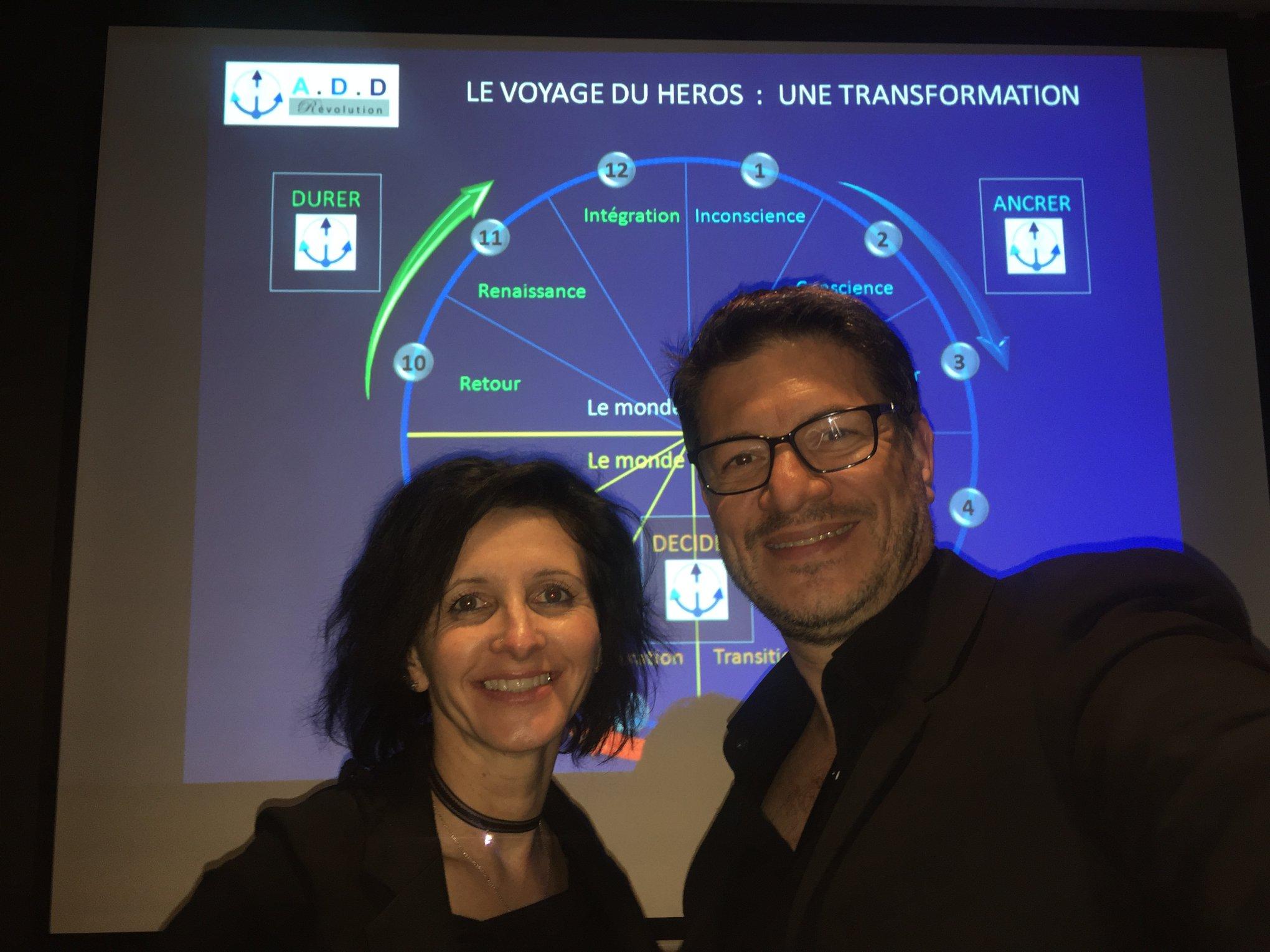 Beatrice Fornari et Christophe Hebbenn