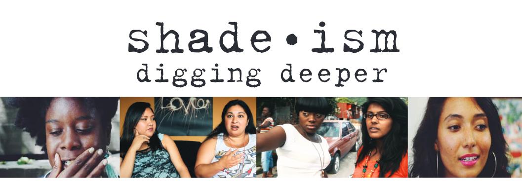 Shadism Digging Deeper - Designed page banner