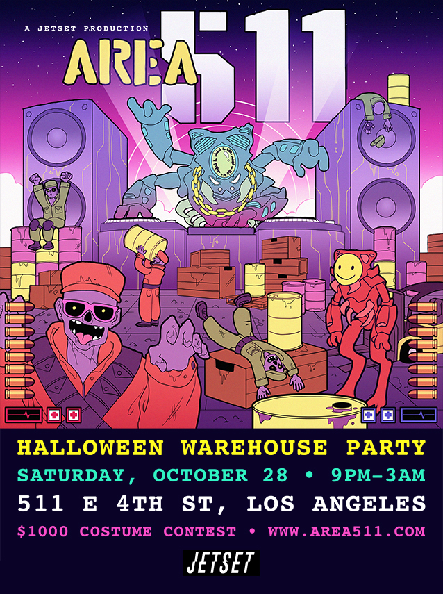 AREA 511: Halloween Party Tickets, Sat, Oct 28, 2017 at 10:00 PM ...