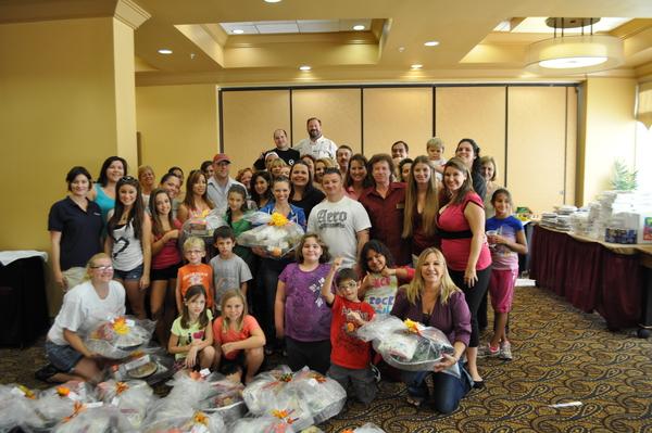 Space Coast Power Team Thanksgiving Basket Brigade