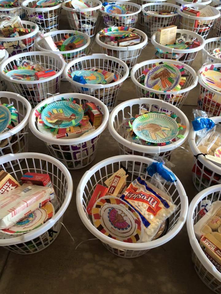Space Coast Basket Brigade Thanksgiving Baskets 2015