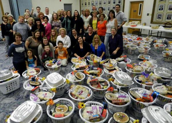 Thanksgiving Basket Brigade Space Coast Power Team