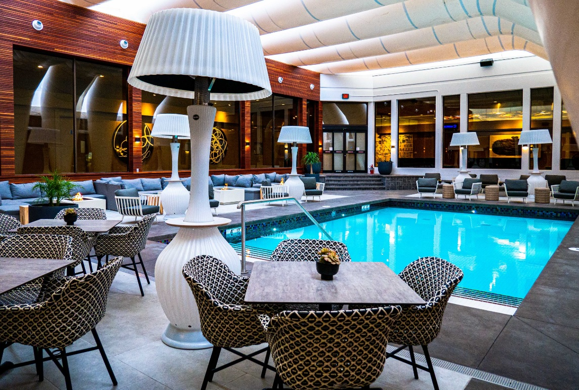 Poolside Patio at Hotel Arts