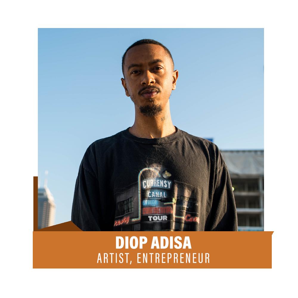 Diop Adisa Headshot