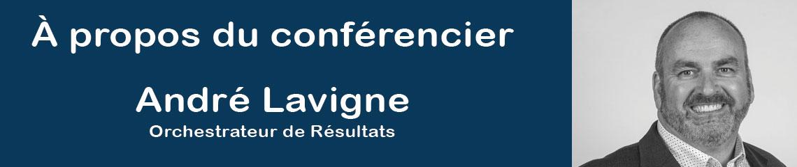 Andre Lavigne conferencier AQIII