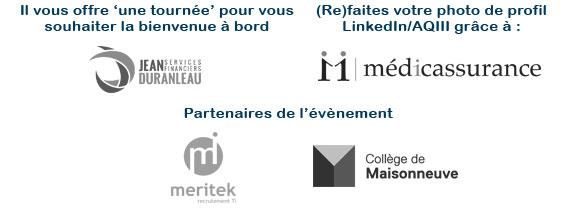 Partenaires cocktail rentrée Montréal