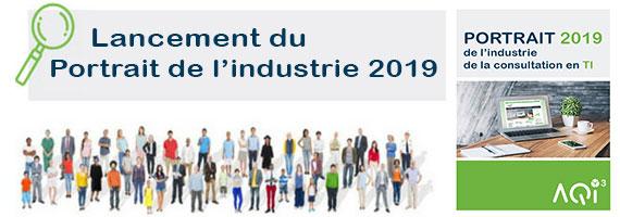 Lancement Portrait de l'industrie consultation TI 2019