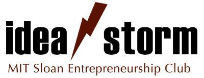 Ideastorm 13: Tues, April 12, 6pm @ CIC (Kendall Square)