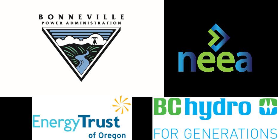 BPA, NEEA, ETO and BC Hydro logos
