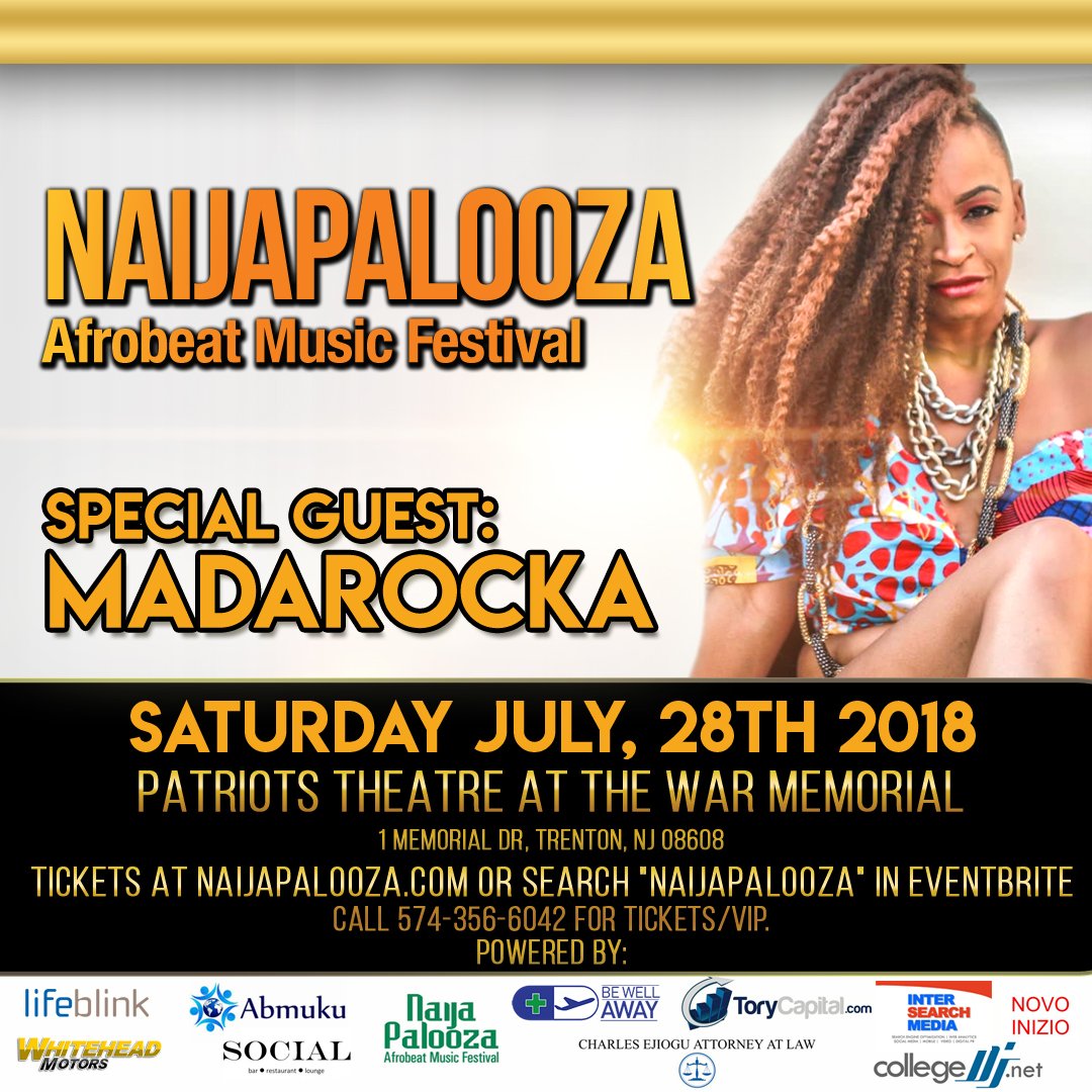 madarocka chi naijapalooza afrobeat music festival july 28 2018 trenton nj