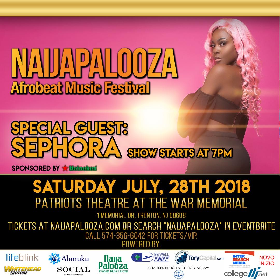sephora afrobeat music festival concert photo naijapalooza trenton nj