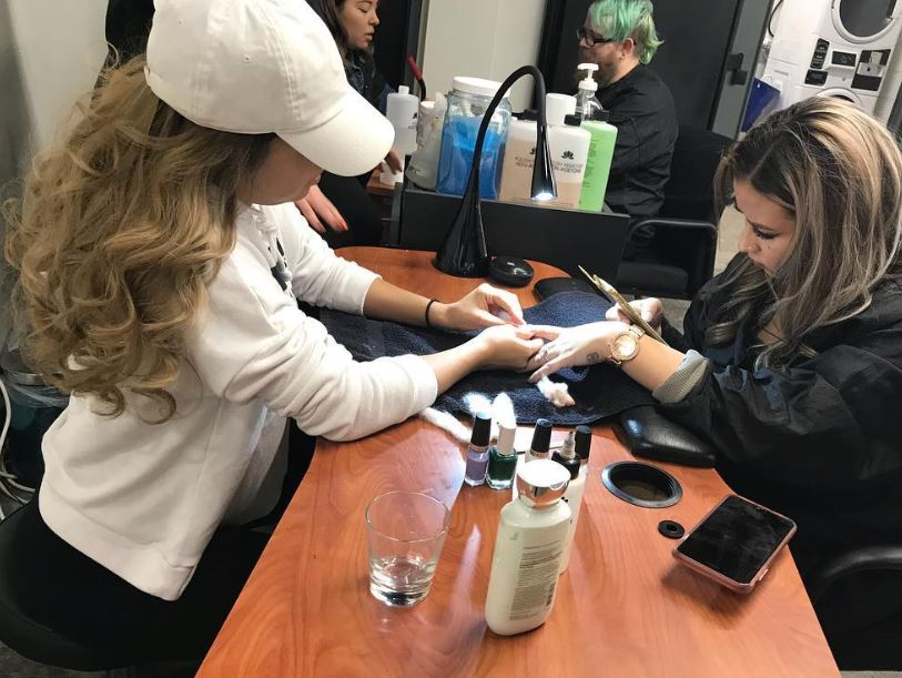 Get a spa manicure for only 10 bucks!