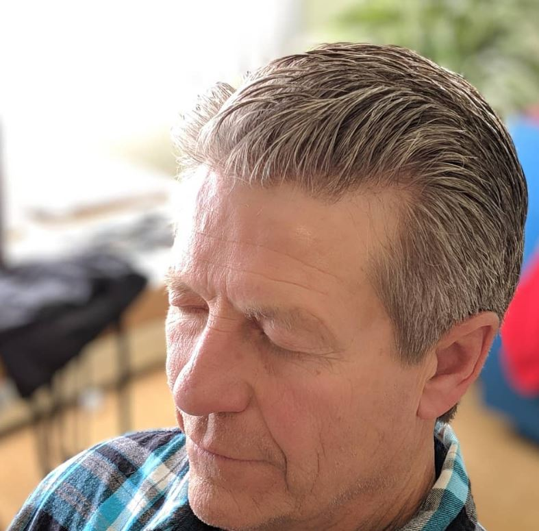Get a traditional men's haircut