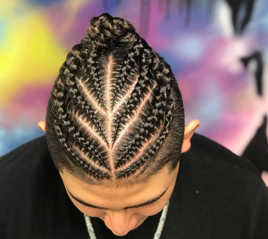 Emily Griffith Tech College student, nancyjo_thebarber, will give you braids like these!