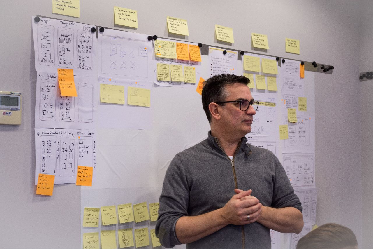 José Díaz, profesor del taller Design Sprint Master 2.0