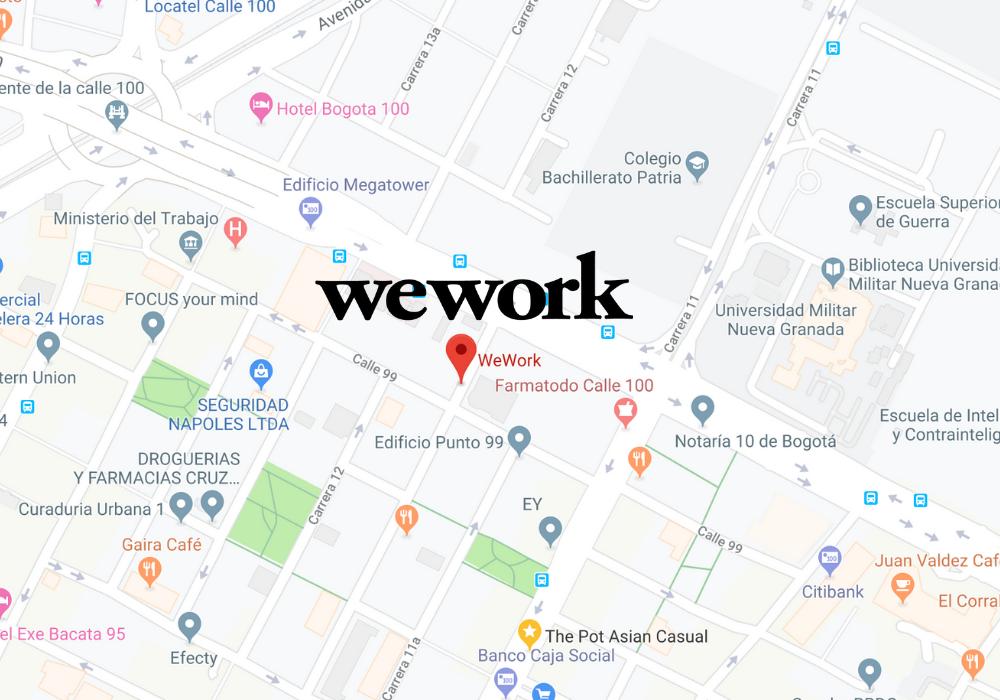 wework coworking