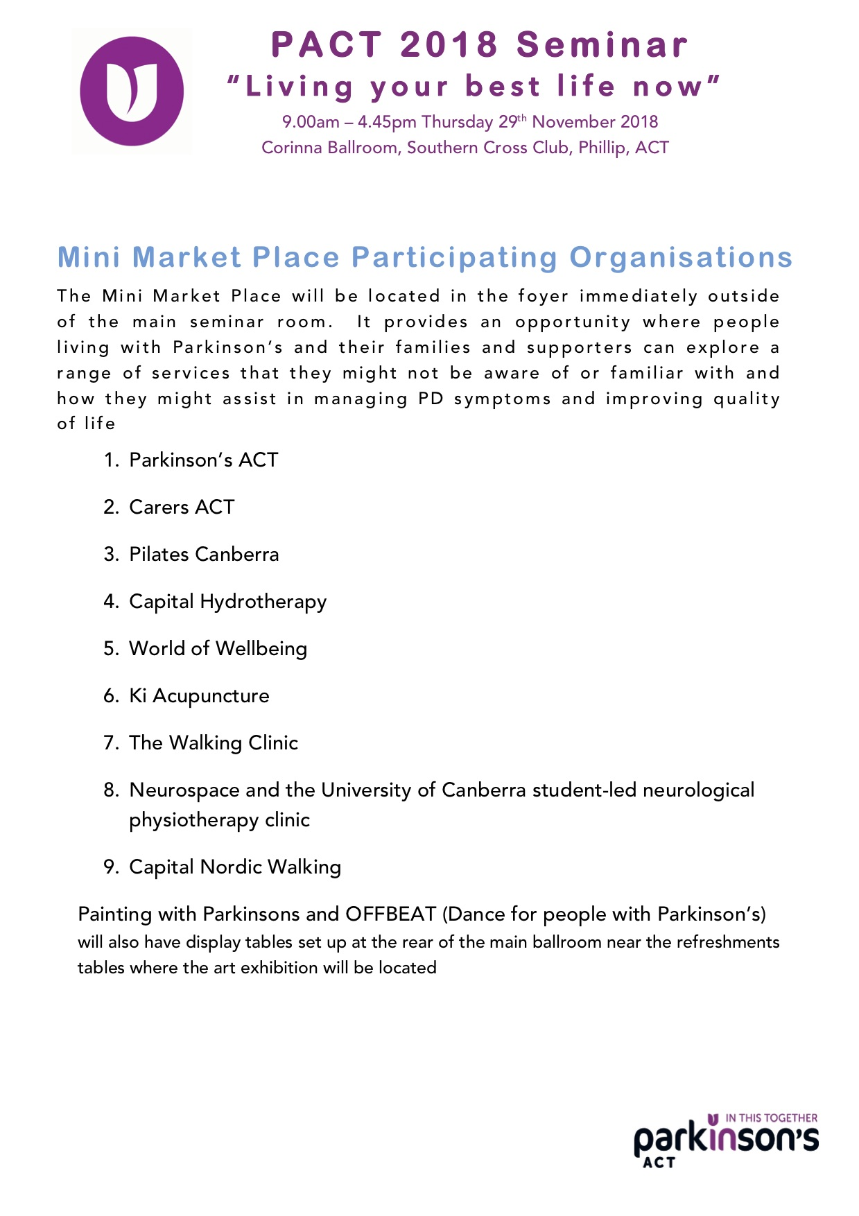 MiniMarket List