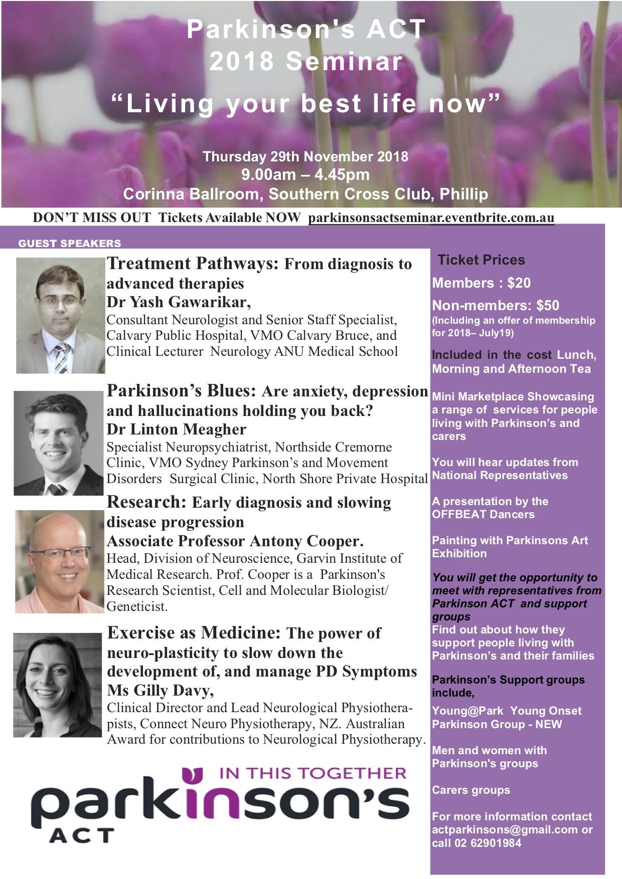 PACT Seminar Flyer