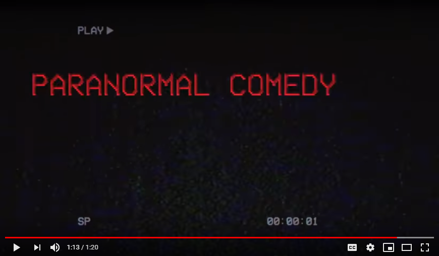 Paranormal Comedy