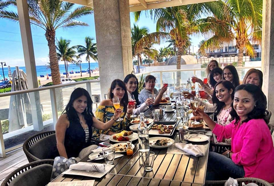Brunch Club January meetup at Terra Mare
