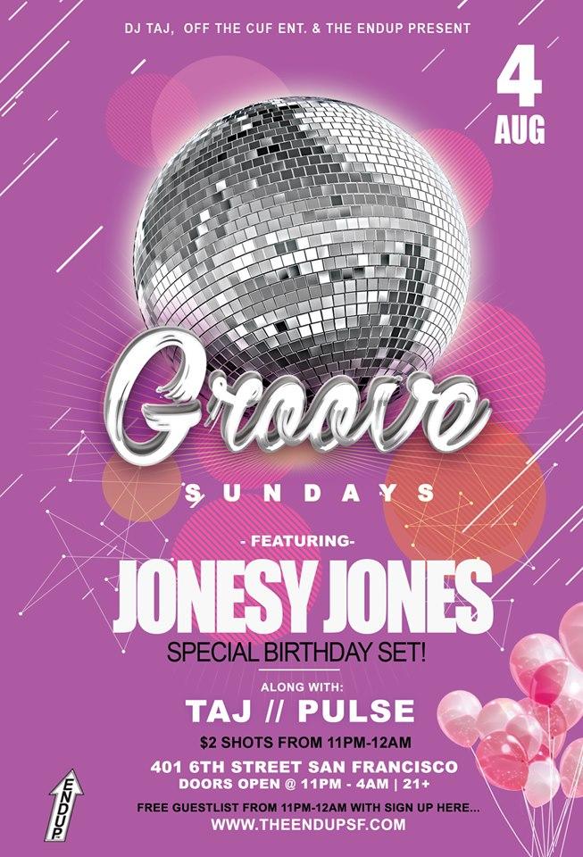 Groove Sundays